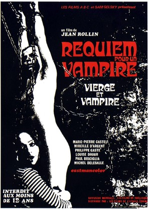 Vierges et vampires - French Movie Poster (thumbnail)