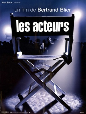 Les acteurs - French Movie Poster (thumbnail)