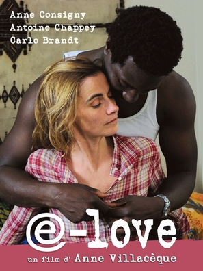 E-love - French Movie Cover (thumbnail)