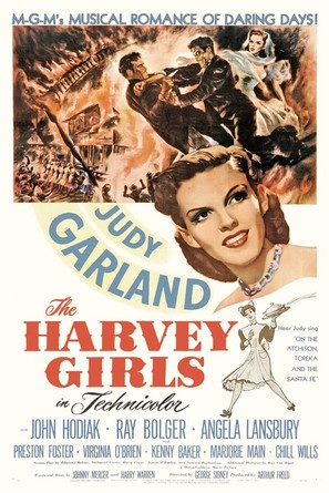 The Harvey Girls - Movie Poster (thumbnail)