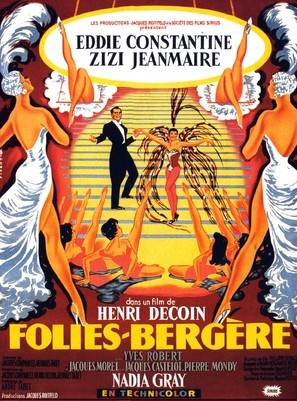 Folies-Bergère - French Movie Poster (thumbnail)