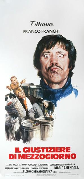 Il giustiziere di mezzogiorno - Italian Movie Poster (thumbnail)