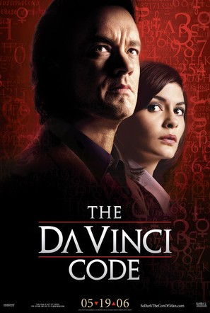 The Da Vinci Code - Movie Poster (thumbnail)