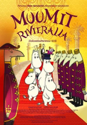 Muumit Rivieralla - Finnish Movie Poster (thumbnail)