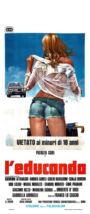 L'educanda - Italian Movie Poster (thumbnail)