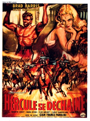 La furia di Ercole - French Movie Poster (thumbnail)