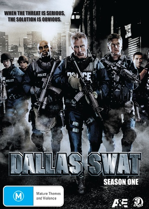 """Dallas SWAT"" - Australian DVD cover (thumbnail)"