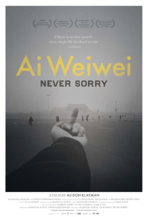 Ai Weiwei: Never Sorry - Movie Poster (thumbnail)