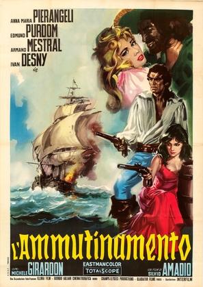 L'ammutinamento - Italian Movie Poster (thumbnail)