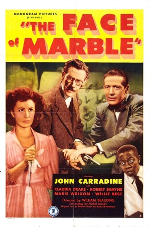 The Face of Marble - Theatrical poster (thumbnail)