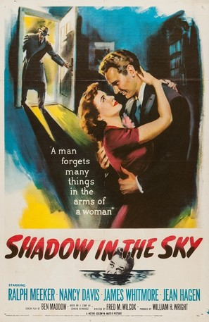 Shadow in the Sky - Movie Poster (thumbnail)