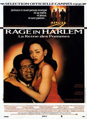 A Rage in Harlem - French Movie Poster (thumbnail)
