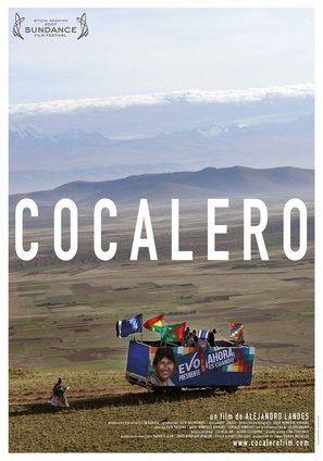 Cocalero - Bolivian Movie Poster (thumbnail)