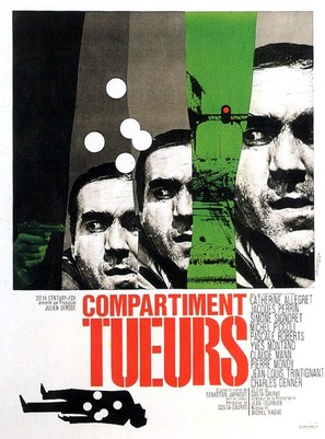 Compartiment tueurs - French Movie Poster (thumbnail)