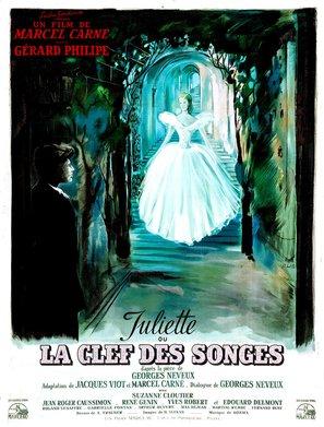 Juliette ou La clef des songes - French Movie Poster (thumbnail)