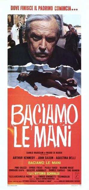 Baciamo le mani - Italian Movie Poster (thumbnail)