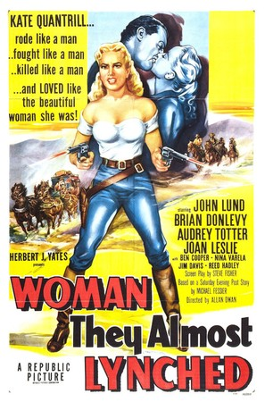 Woman They Almost Lynched - Movie Poster (thumbnail)