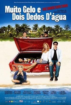 Muito Gelo E Dois Dedos D'Água - Brazilian poster (thumbnail)