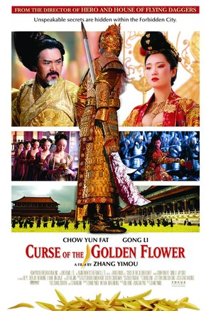 Curse of the Golden Flower - Movie Poster (thumbnail)