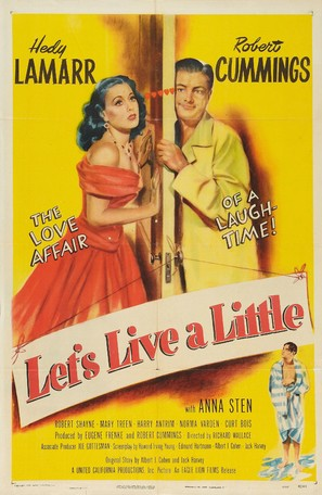 Let's Live a Little - Movie Poster (thumbnail)