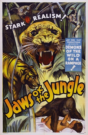 Jaws of the Jungle - Movie Poster (thumbnail)