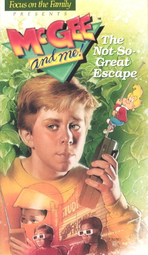 """The Adventures of McGee and Me"" - VHS movie cover (thumbnail)"