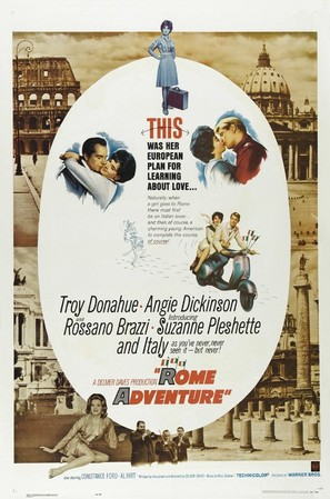 Rome Adventure - Movie Poster (thumbnail)