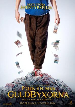 Pojken med guldbyxorna - Swedish Movie Poster (thumbnail)