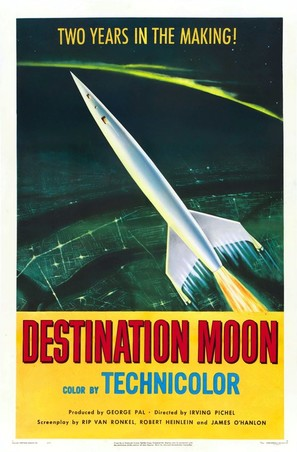 Destination Moon - Movie Poster (thumbnail)