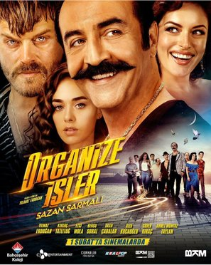Organize Isler: Sazan Sarmali - Turkish Movie Poster (thumbnail)