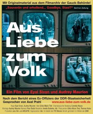 Aus Liebe zum Volk - poster (thumbnail)