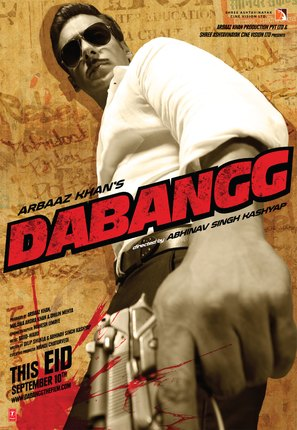 Dabangg - Indian Movie Poster (thumbnail)