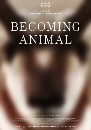 Becoming Animal - Swiss Movie Poster (thumbnail)