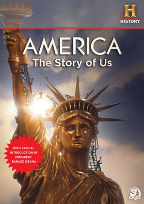 """America: The Story of Us"" - DVD cover (thumbnail)"
