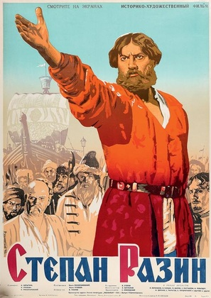 Stepan Razin - Soviet Movie Poster (thumbnail)