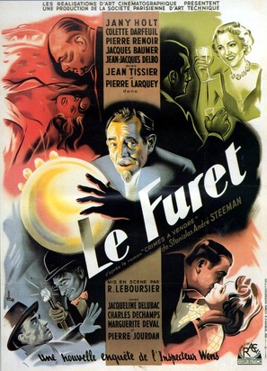 Le furet - French Movie Poster (thumbnail)