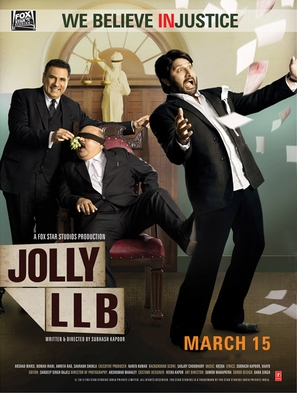 Jolly LLB - Indian Movie Poster (thumbnail)