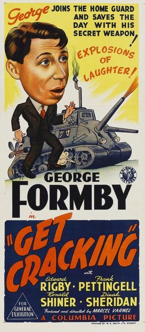 Get Cracking - Australian Movie Poster (thumbnail)