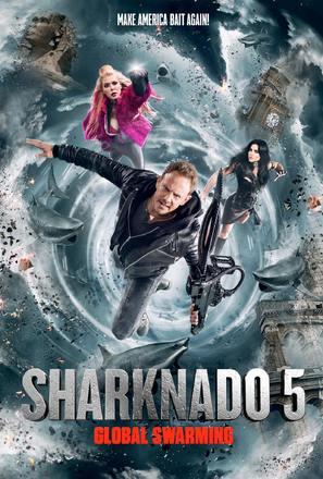 Sharknado 5: Global Swarming - Movie Poster (thumbnail)