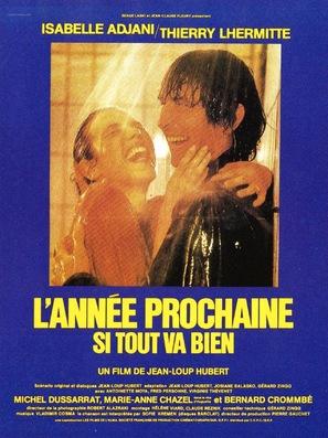 Année prochaine... si tout va bien, L' - French Movie Poster (thumbnail)
