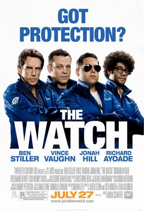 The Watch - Movie Poster (thumbnail)