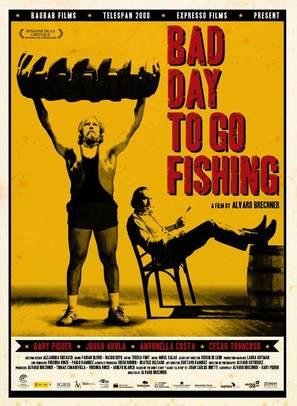 Mal día para pescar - British Movie Poster (thumbnail)