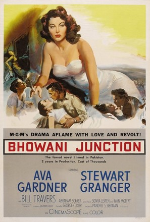 Bhowani Junction - Movie Poster (thumbnail)