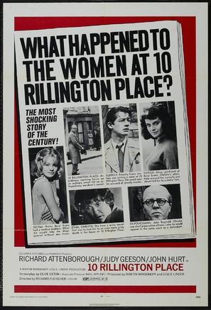 10 Rillington Place - Movie Poster (thumbnail)