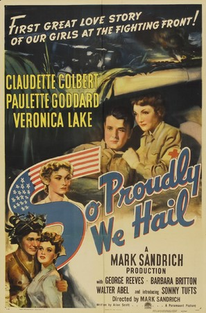 So Proudly We Hail! - Movie Poster (thumbnail)