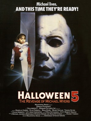 Halloween 5 - Movie Poster (thumbnail)