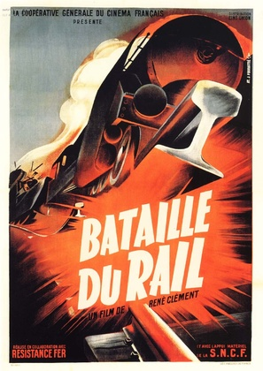 La bataille du rail - French Movie Poster (thumbnail)