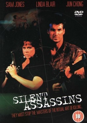 Silent Assassins - British DVD movie cover (thumbnail)