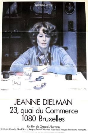 Jeanne Dielman, 23 Quai du Commerce, 1080 Bruxelles - French Movie Poster (thumbnail)
