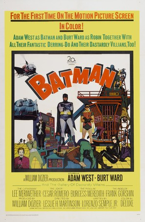 Batman - Theatrical movie poster (thumbnail)